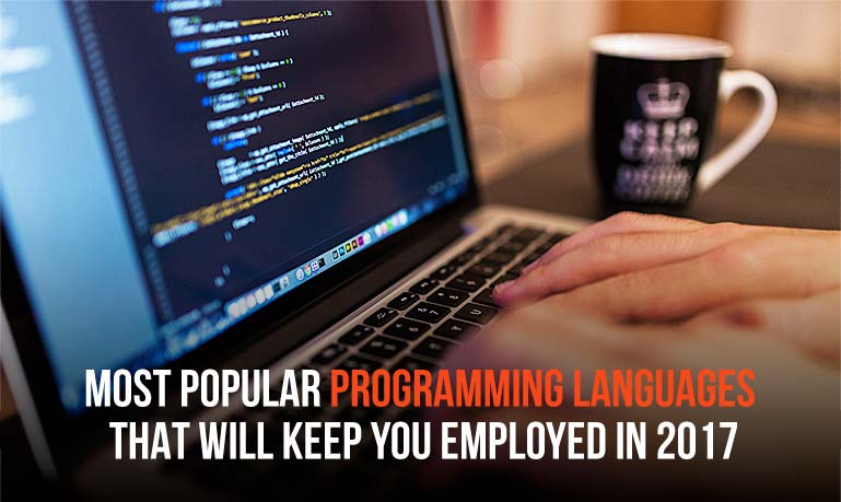 5 Most Popular Programming Languages That  Will Keep You Employed in 2017