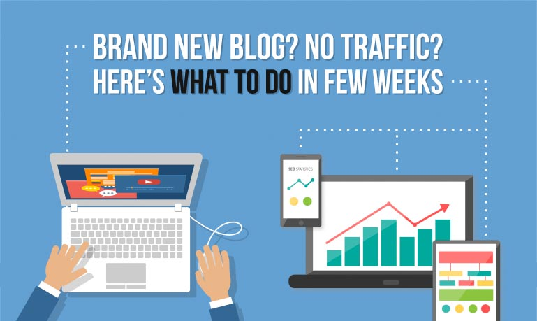Brand New Blog, No Traffic – Top 4 Must Do's For Few Weeks