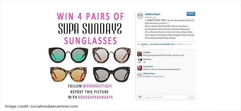 photo contest on Instagram