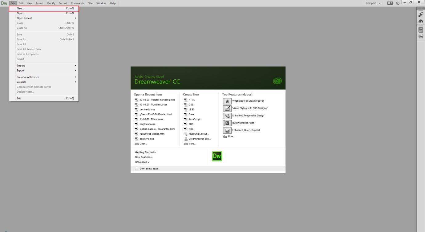 convert pdf to html dreamweaver